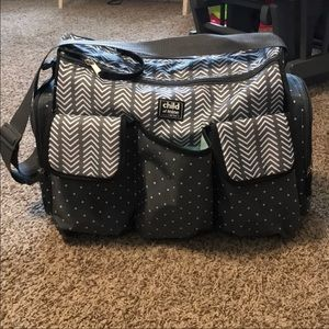 child of mine by Carter's diaper bag